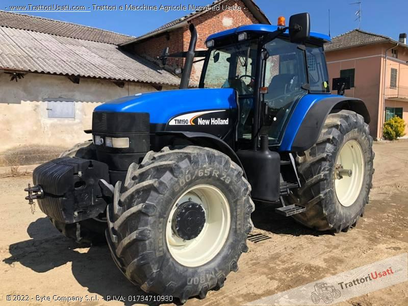 Trattore new holland - tm 190 1