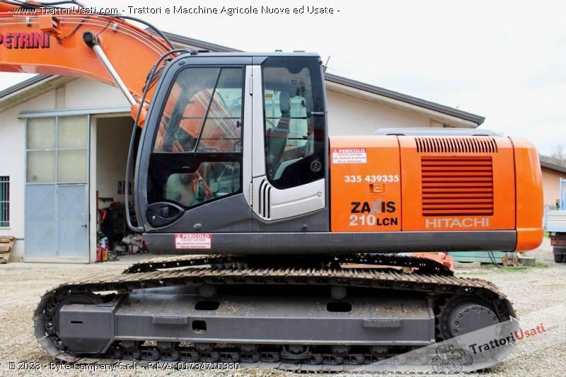 Escavatore  - zx210n hitachi 4