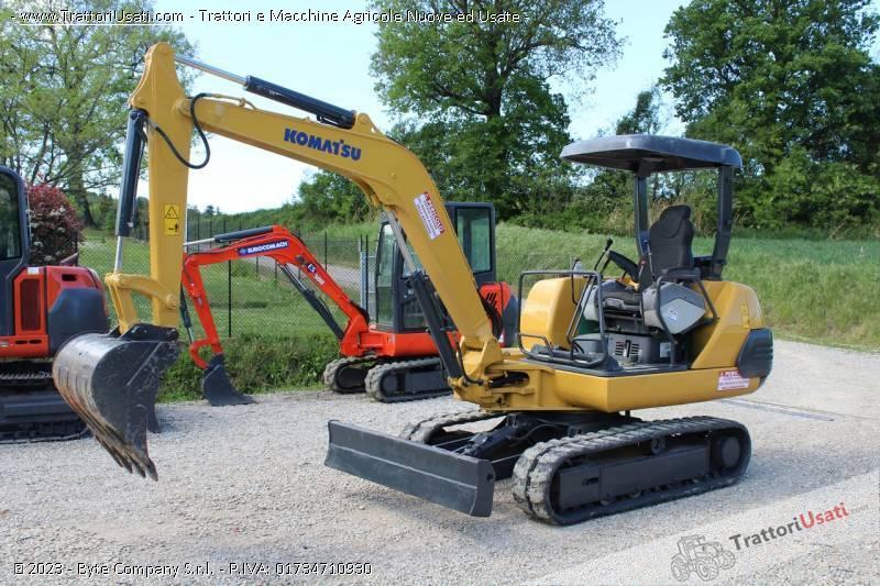 Mini escavatore  - pc25-1 komatsu 0