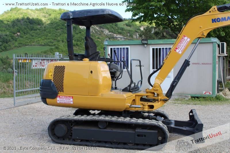 Mini escavatore  - pc25-1 komatsu 3