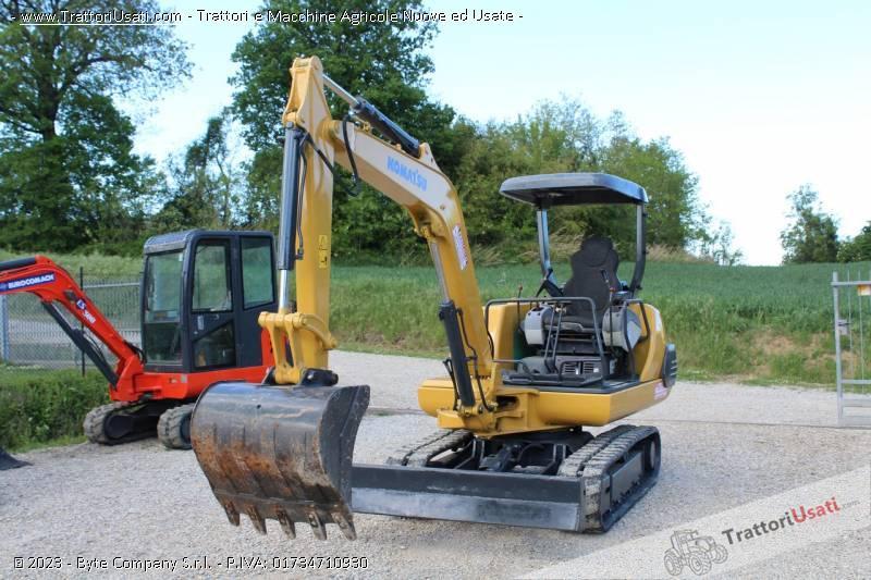 Mini escavatore  - pc25-1 komatsu 4