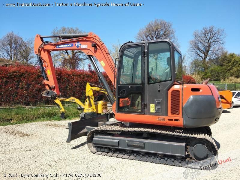 Mini escavatore  - es800 eurocomach 0