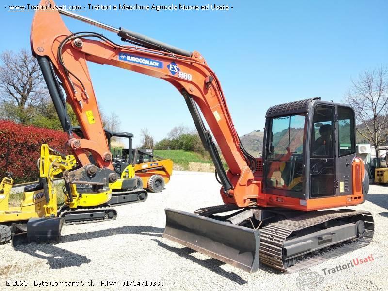 Mini escavatore  - es800 eurocomach 1