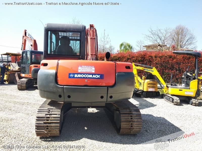 Mini escavatore  - es800 eurocomach 3