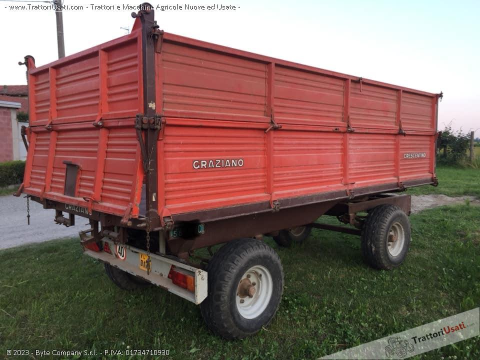 Carro rimorchio  - 50 ql graziano 0