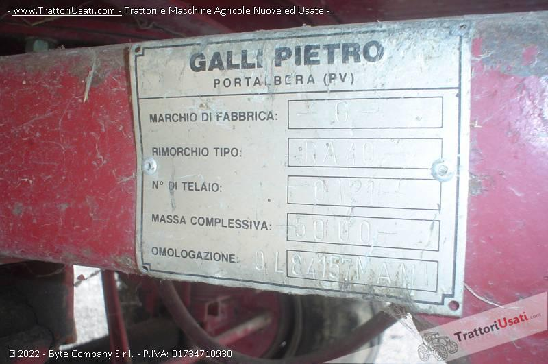 Rimorchio  - ra-40 galli pietro 4