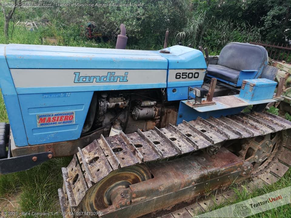 Trattore cingolato landini - 6500 0