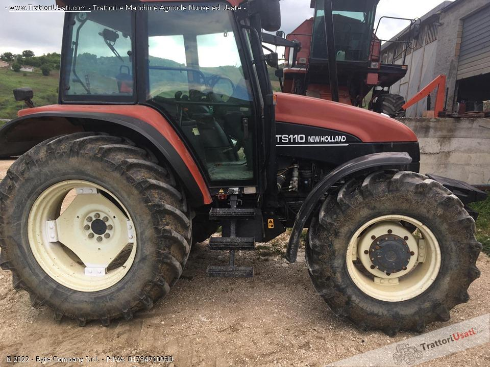 Trattore new holland - ts 110 0