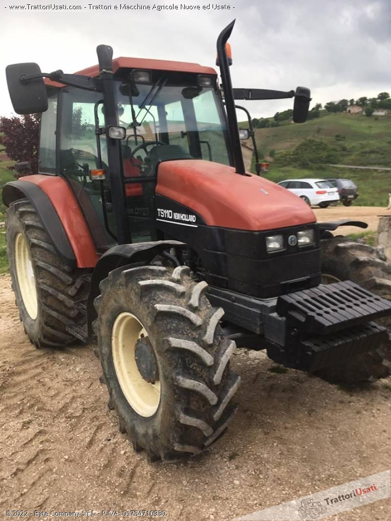 Trattore new holland - ts 110 1