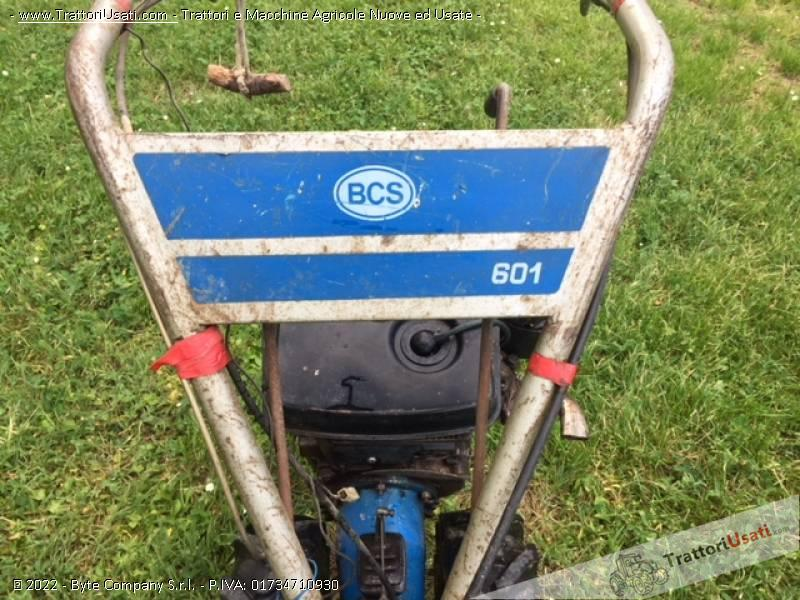 Motofalciatrice bcs - 601 2