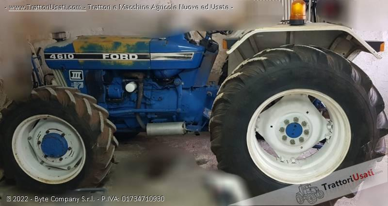 Trattore ford - 4610 0