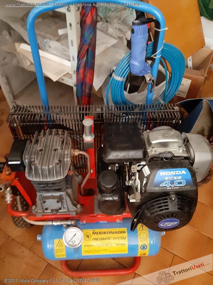 Motocompressore  - 4 cv paterlini 0