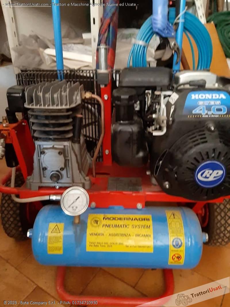 Motocompressore  - 4 cv paterlini 1