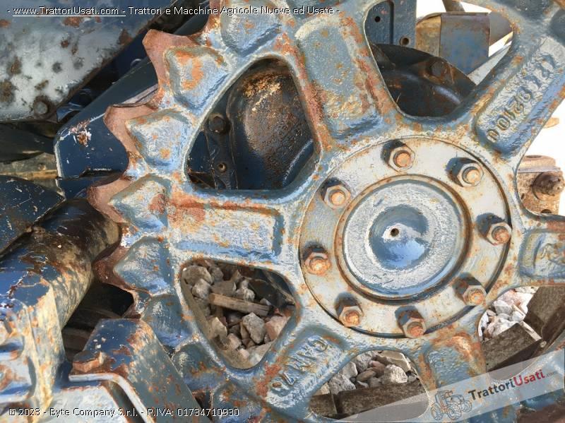 Trattore cingolato lamborghini - 653 l 4