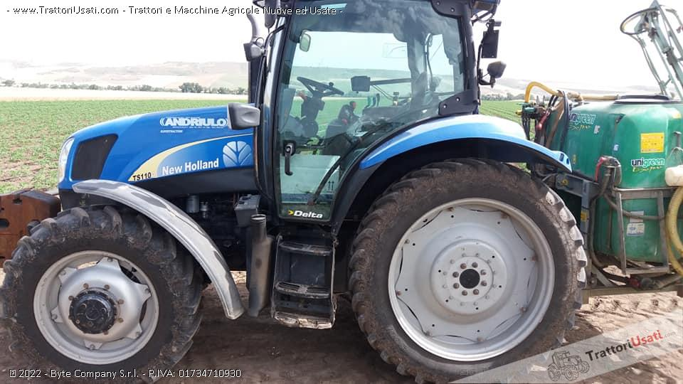 Trattore new holland - ts110a 0