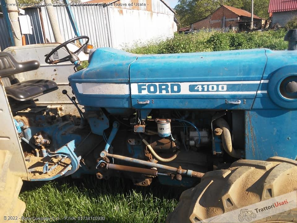 Trattore ford - 4100 0