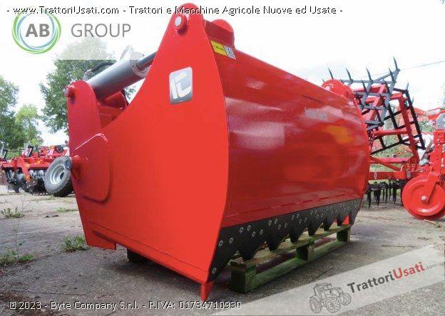 Trituratore paglia  - inter-tech 1,4 m 1