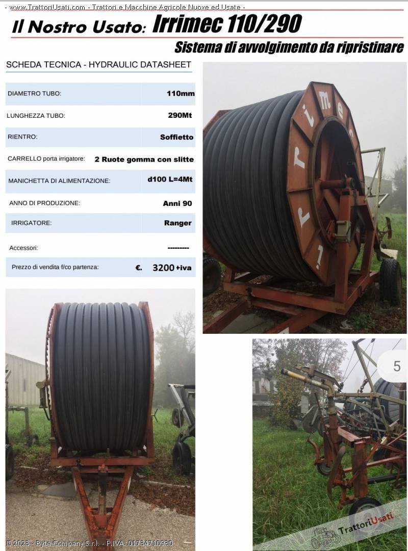 Irrigatote  - ruota irrimec 110/290 0