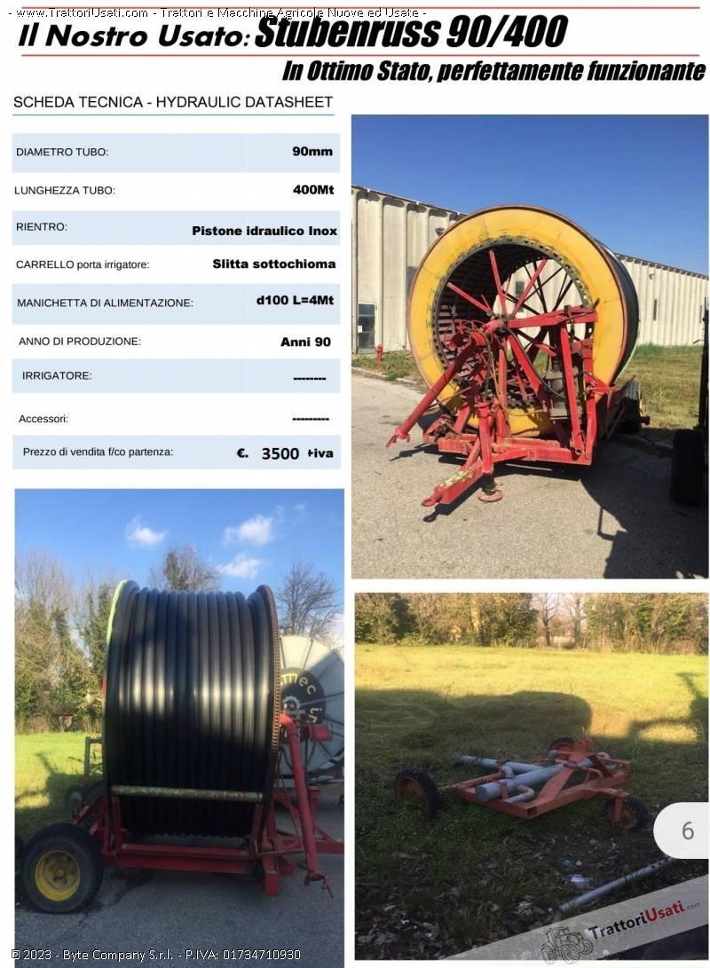 Irrigatote  - ruota stubenruss 90/400 0