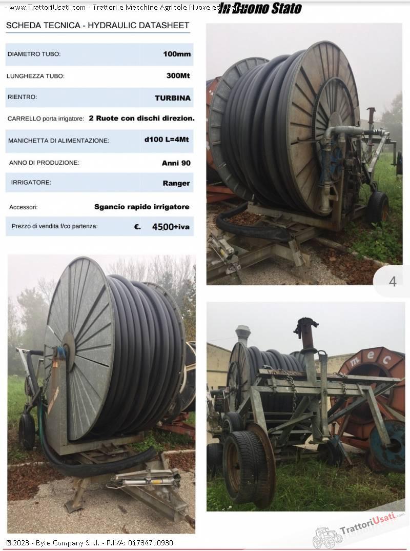 Irrigatore  - ruota turbina 100/300 0