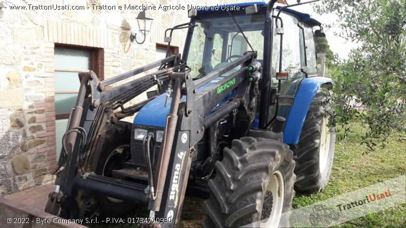 Trattore new holland - tl100 1