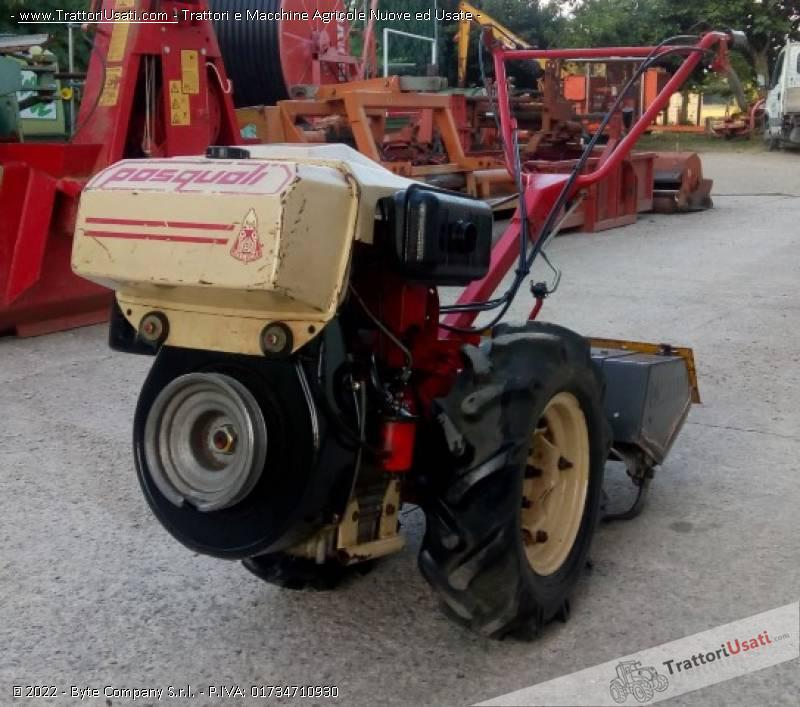 Motocoltivatore pasquali - 478 7
