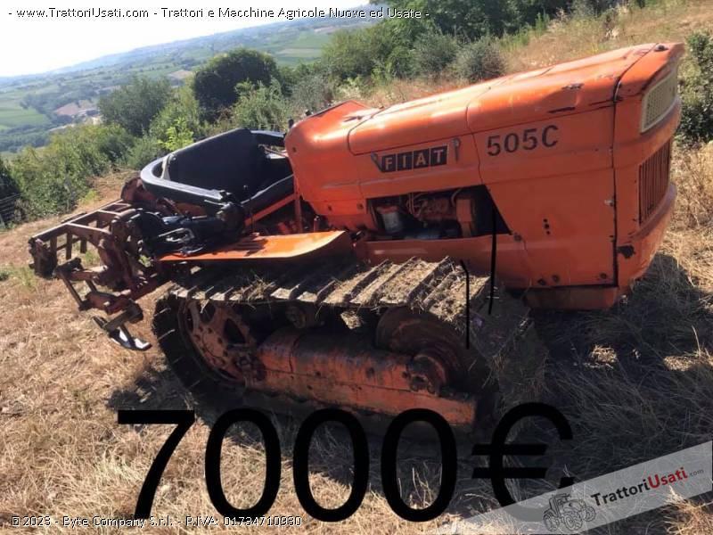 Trattore cingolato fiat - 505c 0