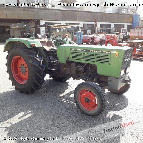 Trattore fendt - farmer 102 s 1