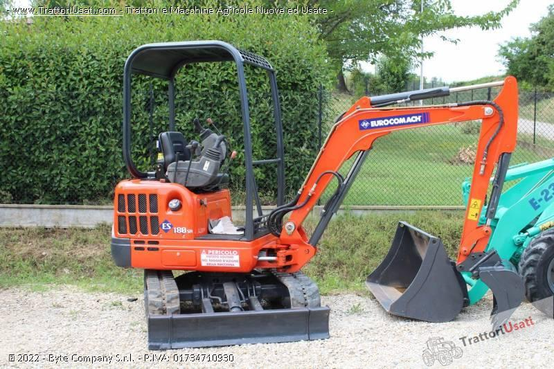 Mini escavatore  - es 180sr eurocomach 0