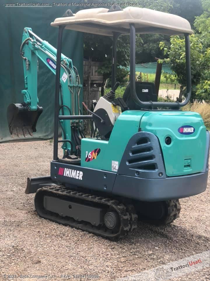 Mini escavatore  - ihimer 16 n 5