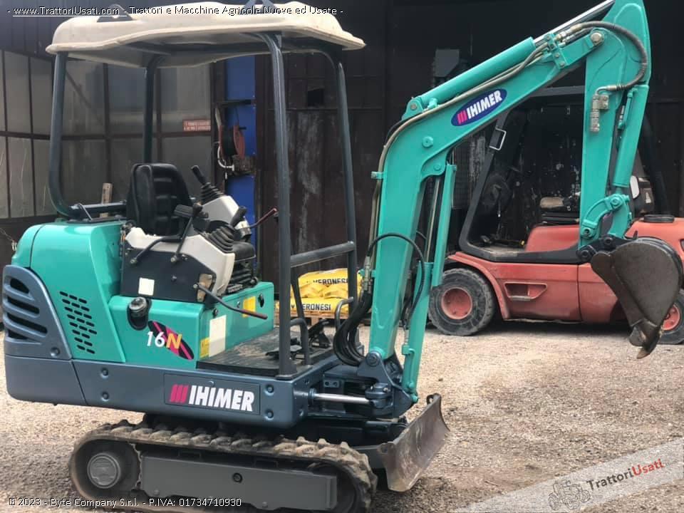 Mini escavatore  - ihimer 16 n 6