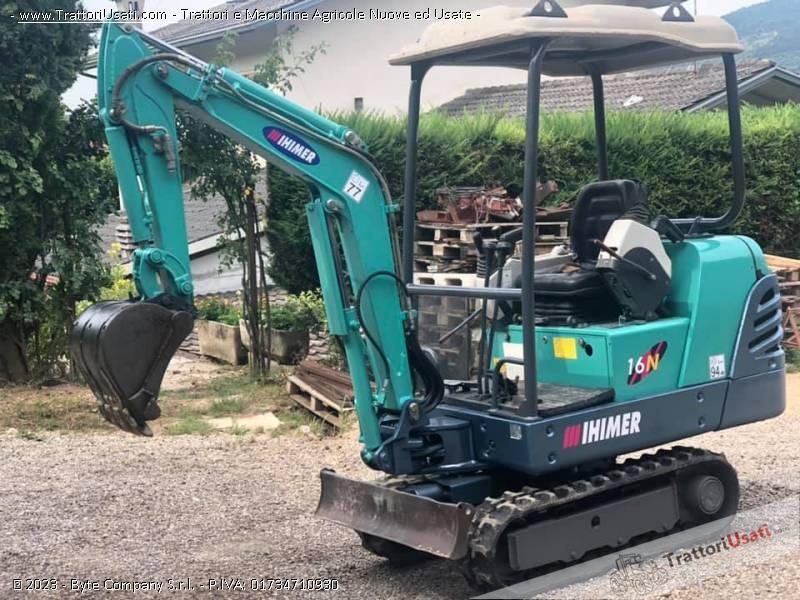 Mini escavatore  - ihimer 16 n 7