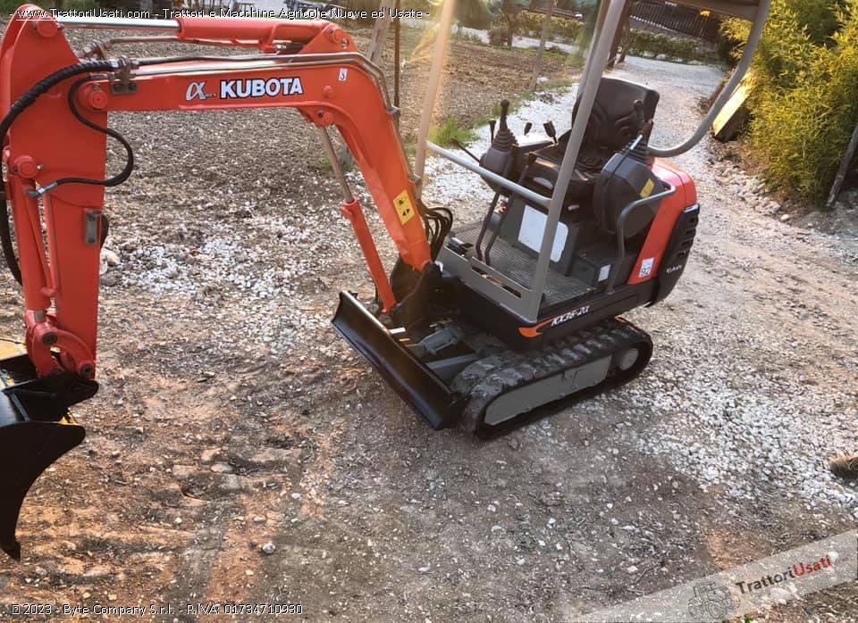 Mini escavatore kubota - kx36-2 g 2