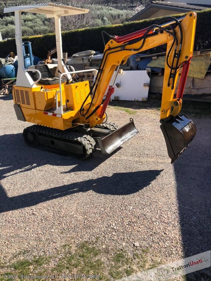 Mini escavatore  - libra 15 quintali modello 115t 0