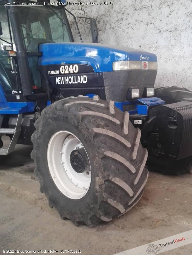 Trattore new holland - g240 1