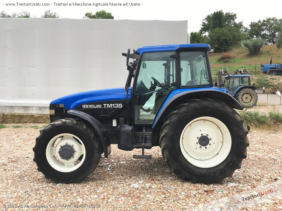 Trattore new holland - tm 135 0