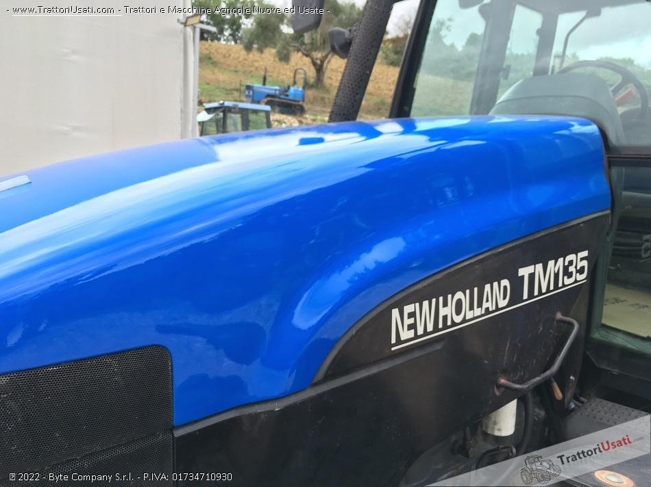 Trattore new holland - tm 135 1