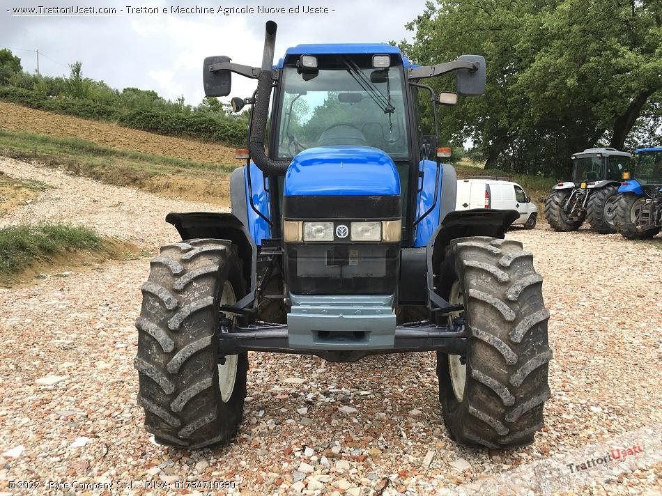 Trattore new holland - tm 135 2