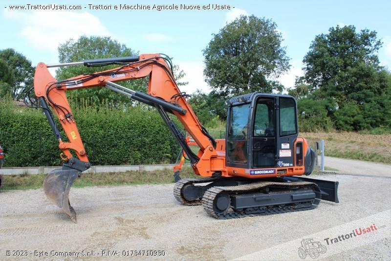 Mini escavatore  - es800tr eurocomach 0