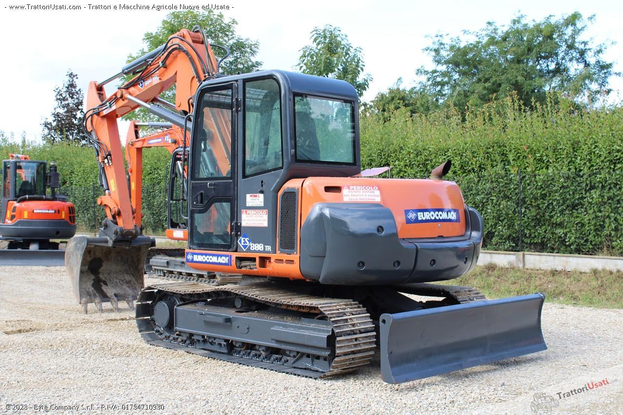 Mini escavatore  - es800tr eurocomach 1