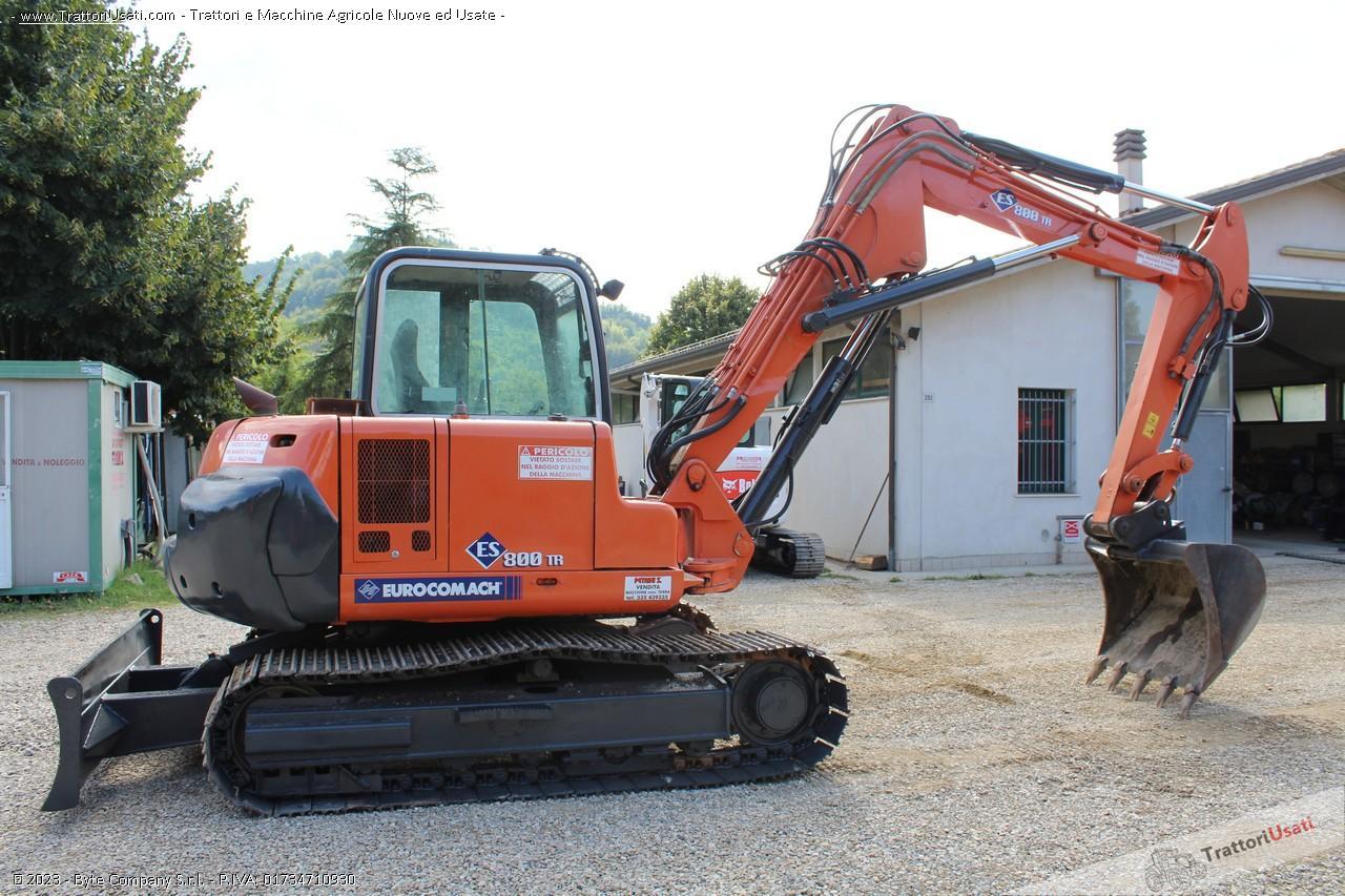 Mini escavatore  - es800tr eurocomach 2