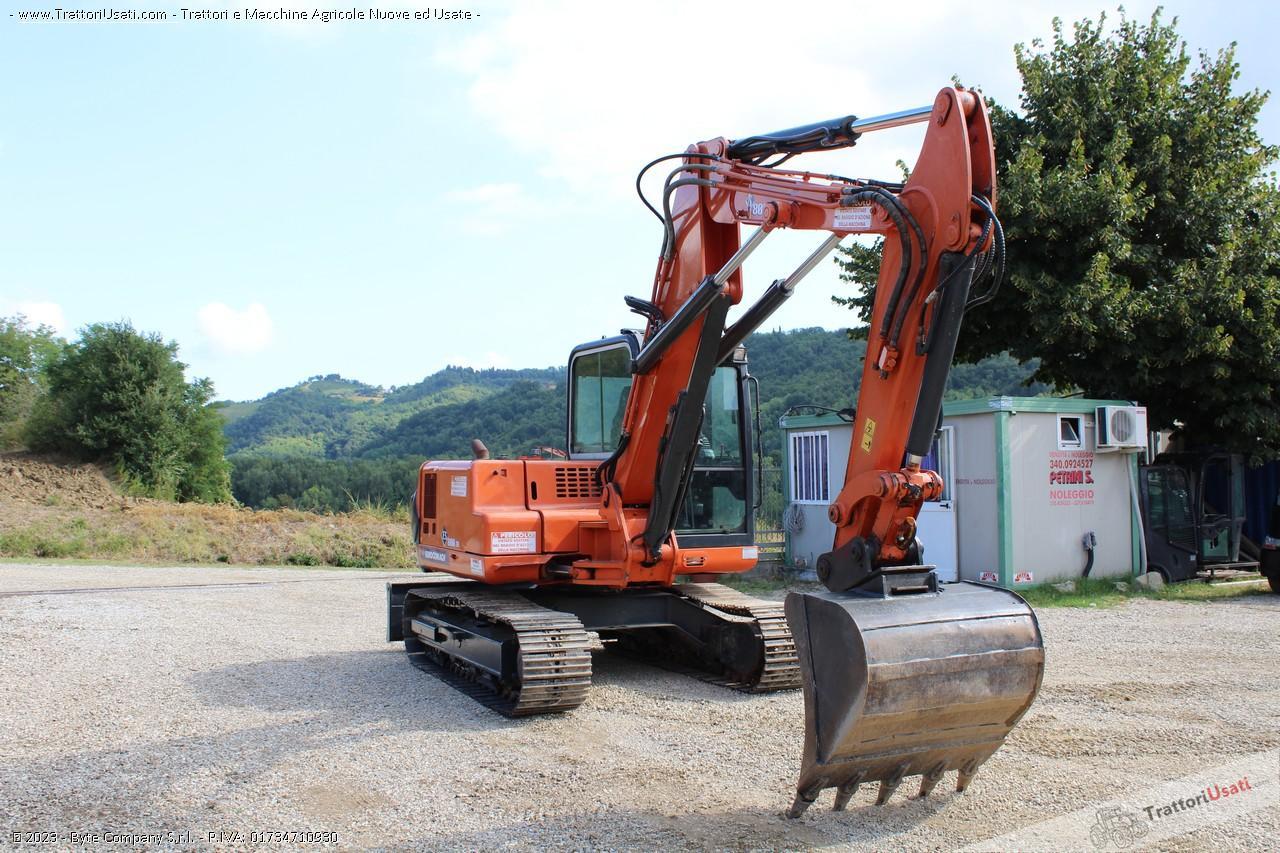 Mini escavatore  - es800tr eurocomach 3