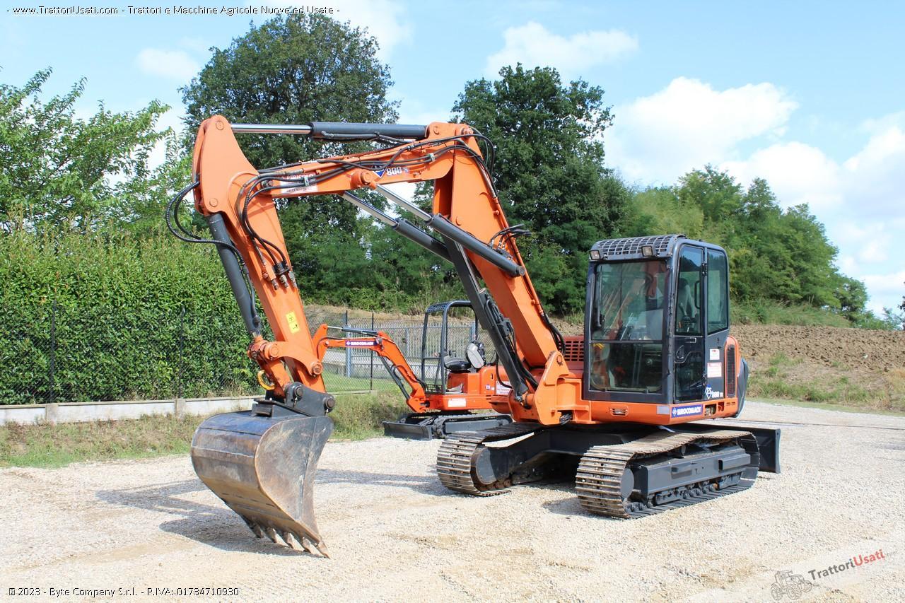 Mini escavatore  - es800tr eurocomach 4