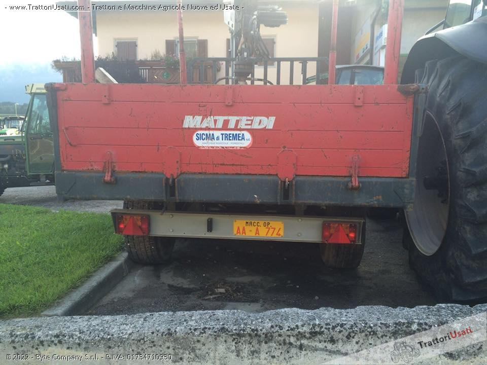 Rimorchio Fm 120 Mattedi