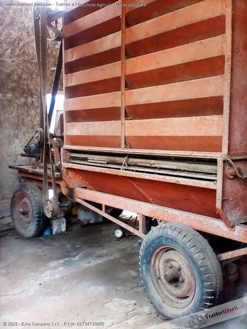 Essiccatoio  - su ruote per cereali, riso,mais 0