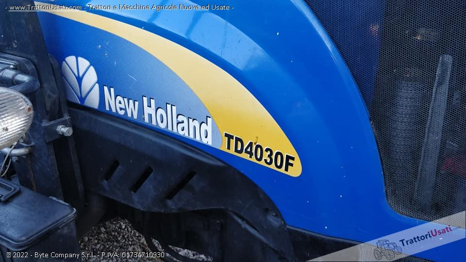 Trattore new holland - td4030f 0