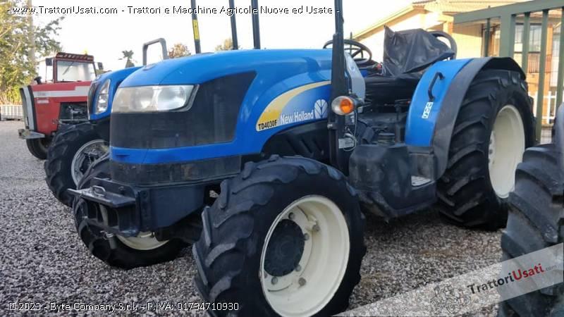 Trattore new holland - td4030f 2
