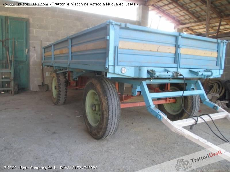 Carro agricolo  - barberis bp 50 0