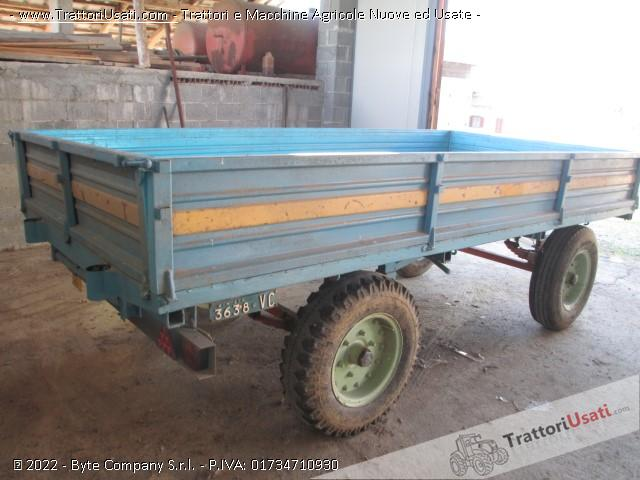 Carro agricolo  - barberis bp 50 1